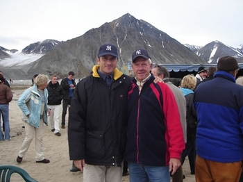 Some NY fans at Spitzbergen